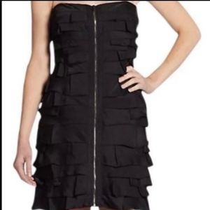 Super cute black BCBG cocktail dress